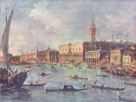 Франческо Гварди. Дворец дожей в Венеции