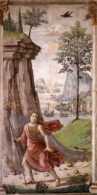 Доменико Гирландайо. Святой Иоанн Предтеча в пустыне