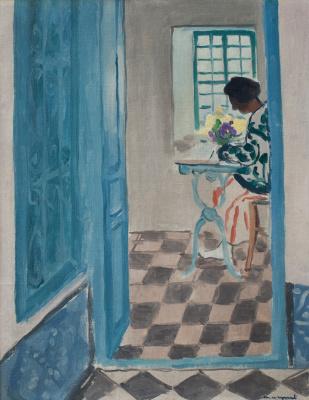 Albert Marquet. The interior is in Sidi Bou said