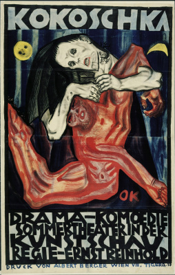 Oskar Kokoschka. Pietà (poster)