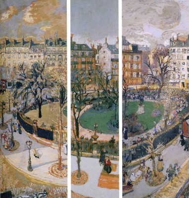 Jean Edouard Vuillard. Paris. Square Vintimille