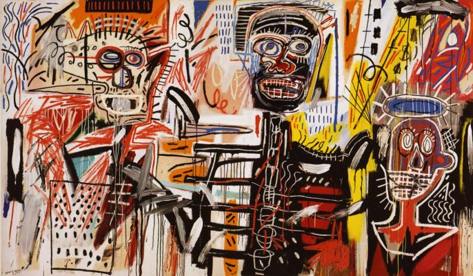 Jean-Michel Basquiat. The Philistines