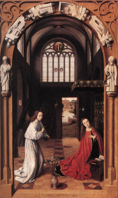 Petrus Christus. The Annunciation