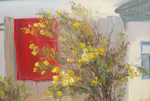 Elena Valyavina. Tea roses on the red carpet