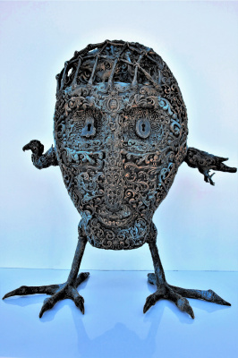 Evgeniy Lagutenkov. Egg head