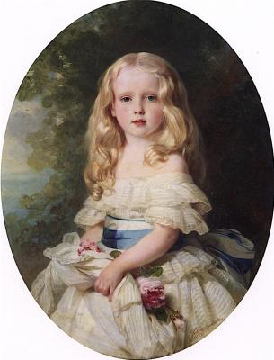 Franz Xaver Winterhalter. Louise von Boden, Princess Biron of Courland
