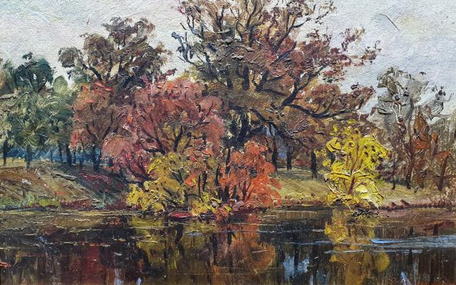 Vladimir Fedorovich Sidoruk. Autumn