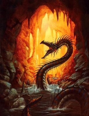 Дидье Граффет. Дракон и огонь