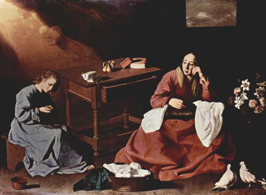 Франсиско де Сурбаран. Отрок Иисус, созерцающий терновый венец