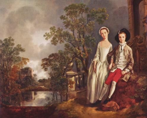 Thomas Gainsborough. Henig Lloyd sister