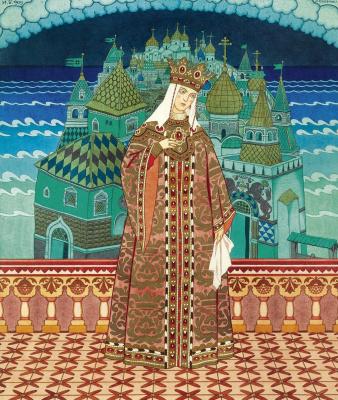 Ivan Yakovlevich Bilibin. Queen of Militris