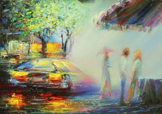 Andrei Ivanovich Boravik. Minsk rains. Weekend/ #2