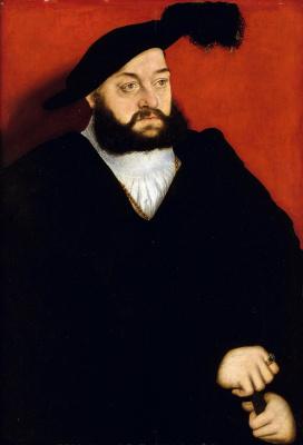 Lucas Cranach the Elder. Johann, Duke of Saxony