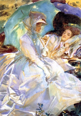 John Singer Sargent. Simplon. Reading