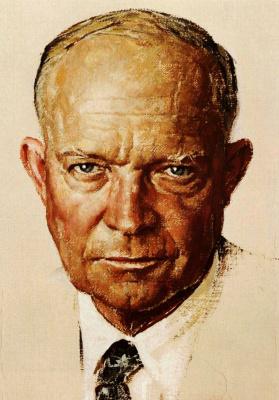 Portrait Of Dwight Eisenhower