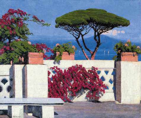 Edward Perch. The Bay of Naples