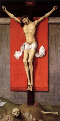 Рогир ван дер Вейден. Распятый Христос