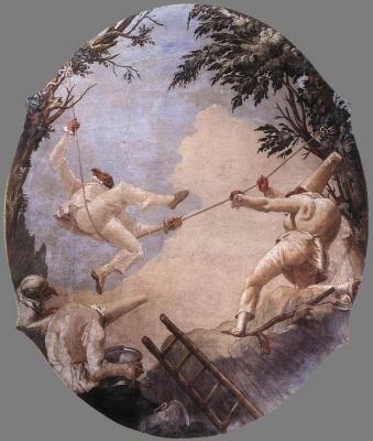 Giovanni Domenico Tiepolo. The descent