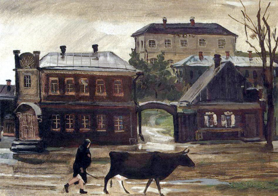 Alexander Alexandrovich Deineka. After the rain. Kursk