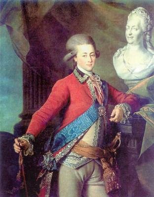 Dmitry Grigorievich Levitsky. Portrait of aide-de-camp A. D. Lanskoy