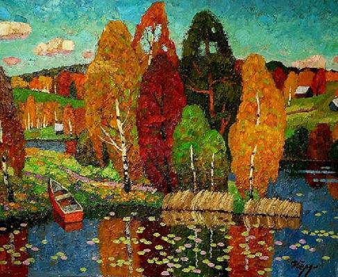 Igor Zagrievich Berdyshev. Silent Creek