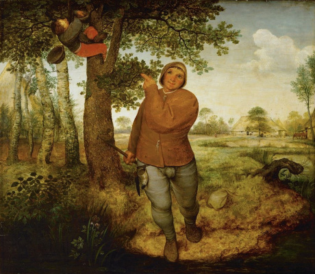 Pieter Bruegel The Elder. The Peasant and the Nest Robber (The Peasant and the Bird Nester)