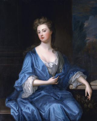 Godfrey Neller. Sarah Churchill, Duchess of Marlborough (attributed to Neller's brush)