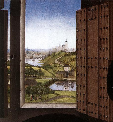 Rogier van der Weyden. Saint Ivo. Fragment