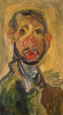 Chaim Soutine. Self-portrait