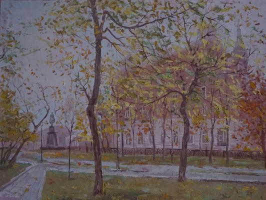 Alexander Panyukov. Autumn on Sretensky Boulevard