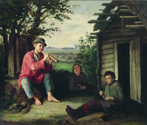 Vasily Maksimovich Maksimov. Heard. 1864
