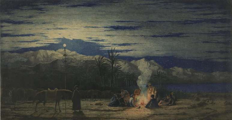 Ричард Дадд. Остановка в пустыне
