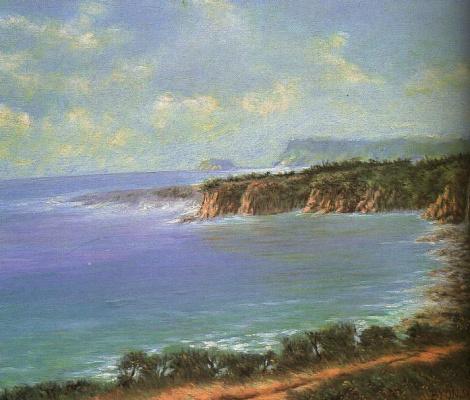 Бьюн Ши Джи. Морской пейзаж