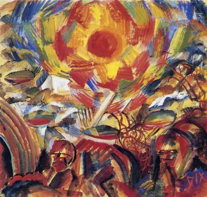 Otto Dix. The sun