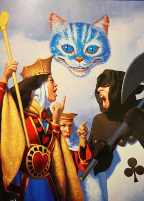 Greg Hildebrandt. Cheshire cat