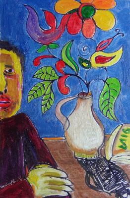 Мурад Халилов. Self-portrait