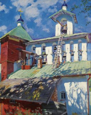 Звонница Псково-Печерского монастыря