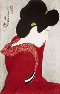 Шинсуи Ито. Девушка в красном
