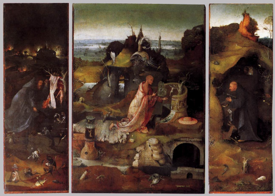 Hieronymus Bosch. Holy Hermits