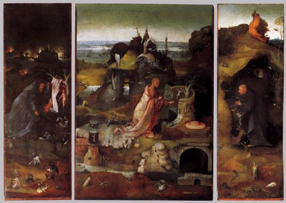 Hieronymus Bosch. Holy Hermits