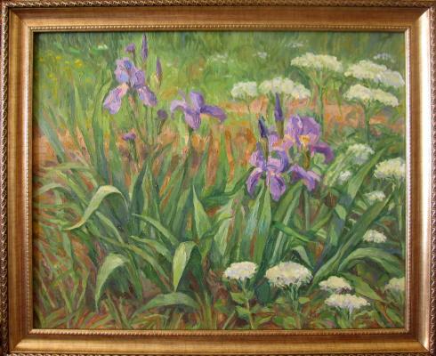 Yuri Davydov. Irises