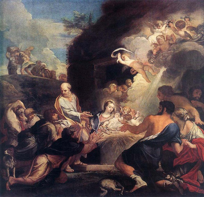 Карло Маратта. Поклонение пастухов