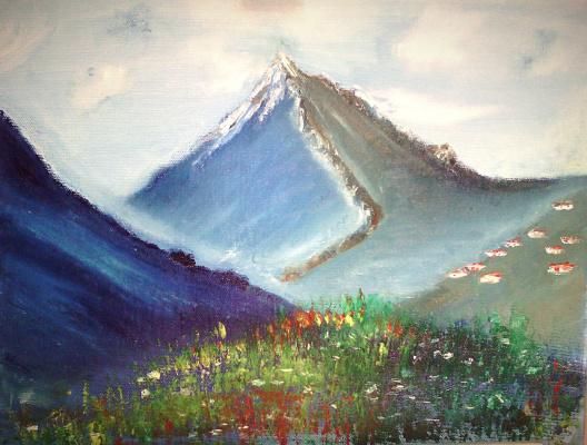 Mariya Pretser. Summer colors