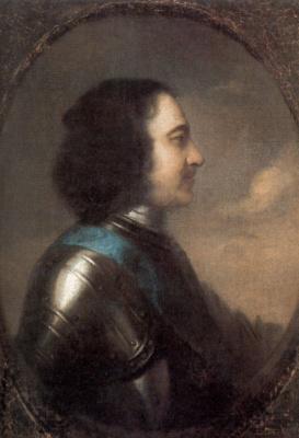 Johann Tannauer. Portrait Of Peter I