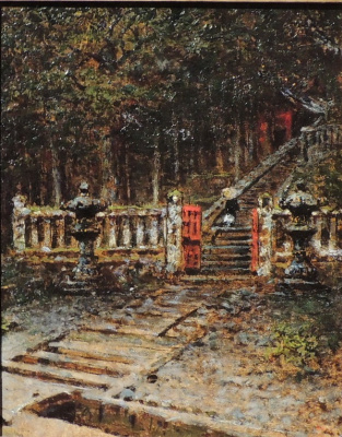 Vasily Vasilyevich Vereshchagin. Entrance to the temple in Kyoto