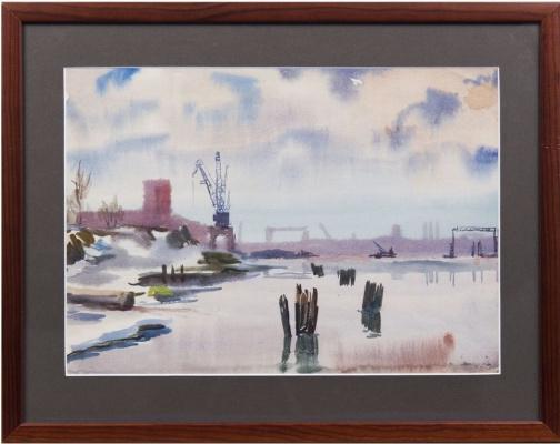 Abram Borisovich Grushko. Harbor