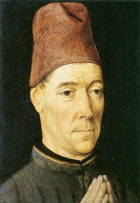 Дирк Баутс. Мужской портрет. ок.1470