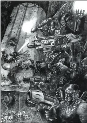 Mark Gibbons. Necromunda 6