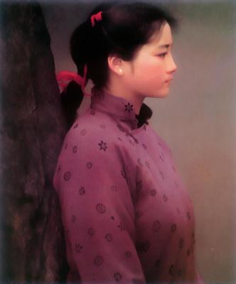 Хан-Ву Шен. Профиль девушки