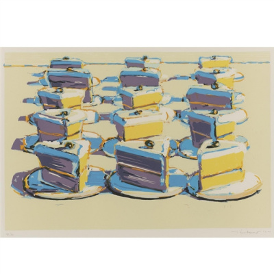 Wayne Thibaut. Slices of cake